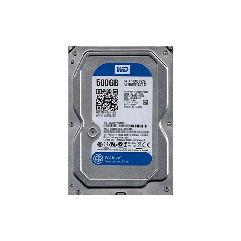 HDD WD 500GB SATA III 32MB 7200Rpm (WD5000AZLX)