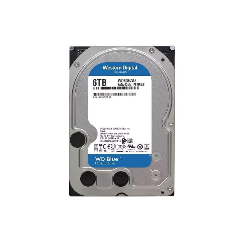 HDD WD 6TB SATA III 256MB 5400Rpm (WD60EZAZ)