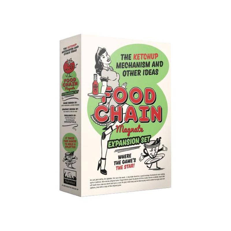 บอร์ดเกม Food Chain Magnate The Ketchup Mechanism Board Game