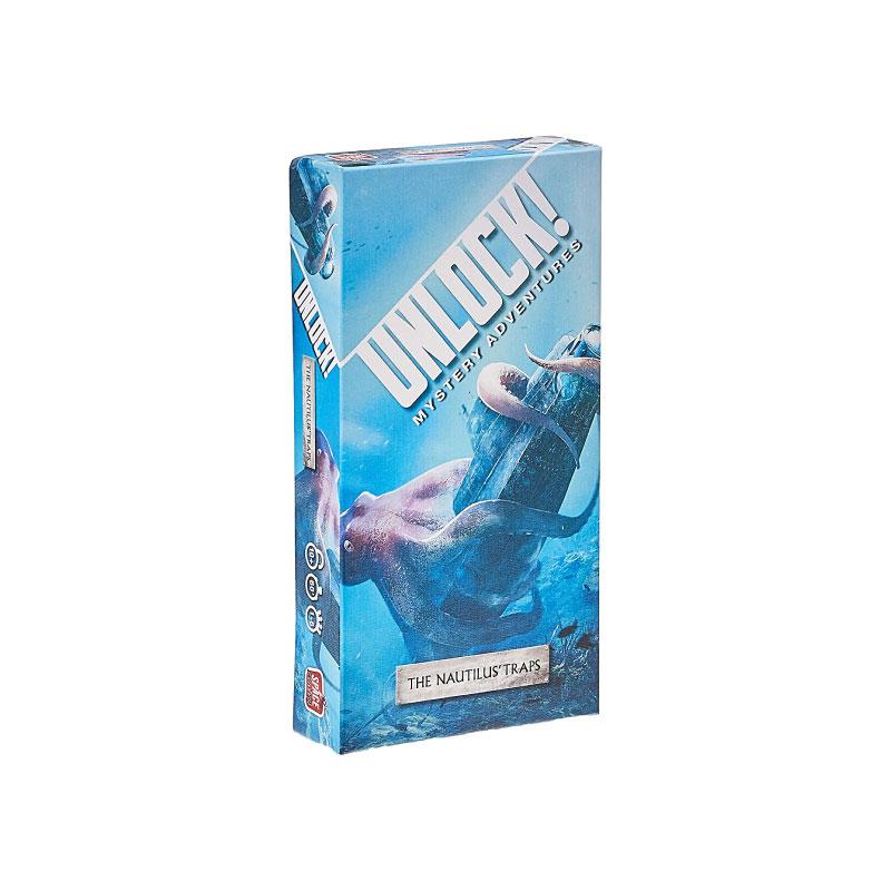บอร์ดเกม Unlock The Nautilus' Trap Board Game