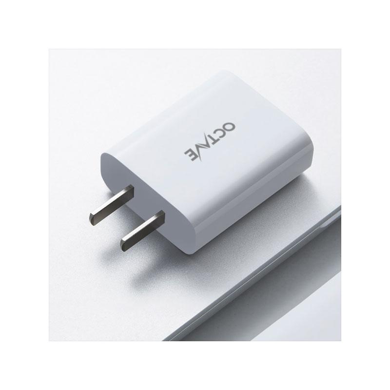 หัวชาร์จ OCTAVE PD18W USB-C 1 Port Adapter