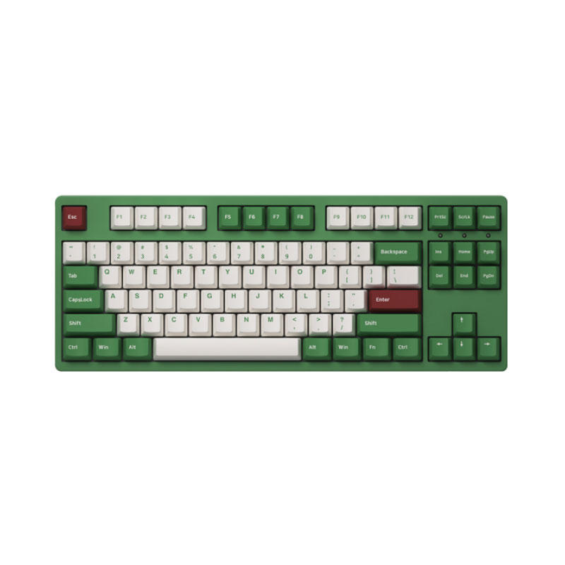 คีย์บอร์ด Akko 3087DS Matcha Red Bean Keyboard Gateron Switch
