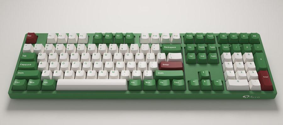 คีย์บอร์ด Akko 3108DS Matcha Red Bean Keyboard Gateron Switch สเปค