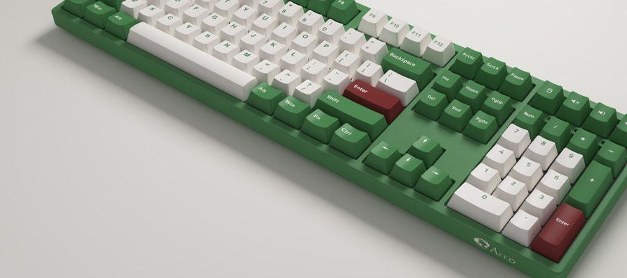 คีย์บอร์ด Akko 3108DS Matcha Red Bean Keyboard Gateron Switch ดีไหม