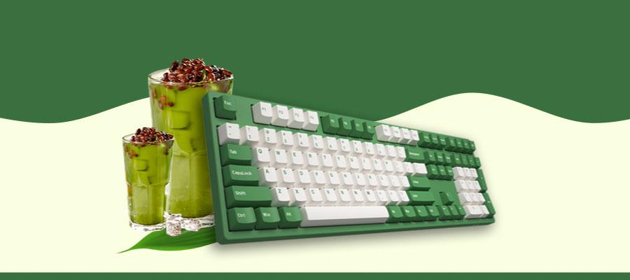 คีย์บอร์ด Akko 3108DS Matcha Red Bean Keyboard Gateron Switch ราคา