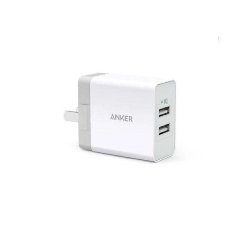หัวชาร์จ Anker PowerPort 2 Lite (A2129J21-AK12)