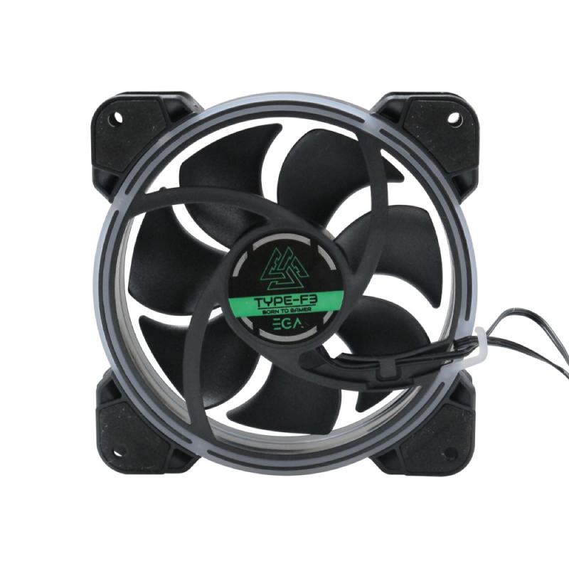 พัดลมระบายความร้อน EGA Type-F3 RGB