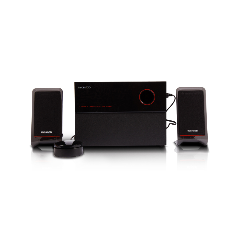 ลำโพงไร้สาย Microlab M200BT 2.1 Bluetooth Speaker