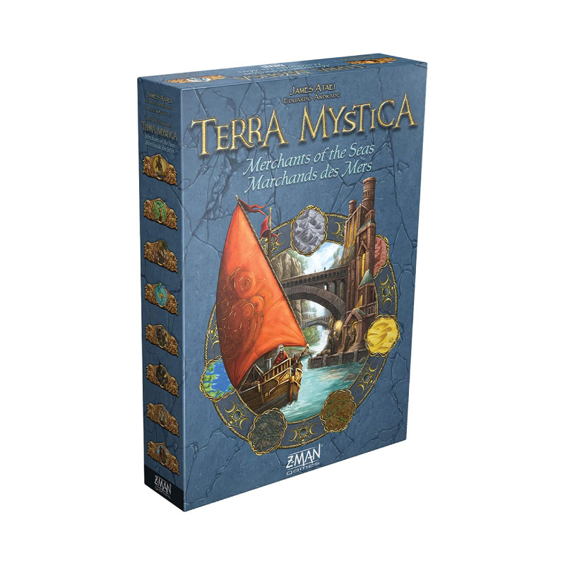 บอร์ดเกม Terra Mystica Merchants of the Seas Expansion Board Game