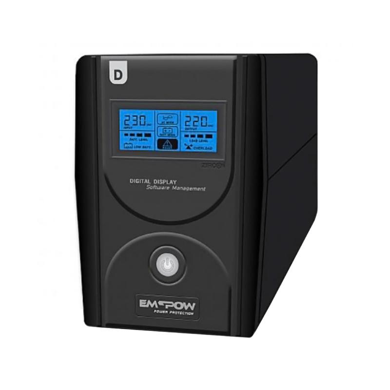เครื่องสำรองไฟ Zircon D-Series 2000VA/1200W UPS