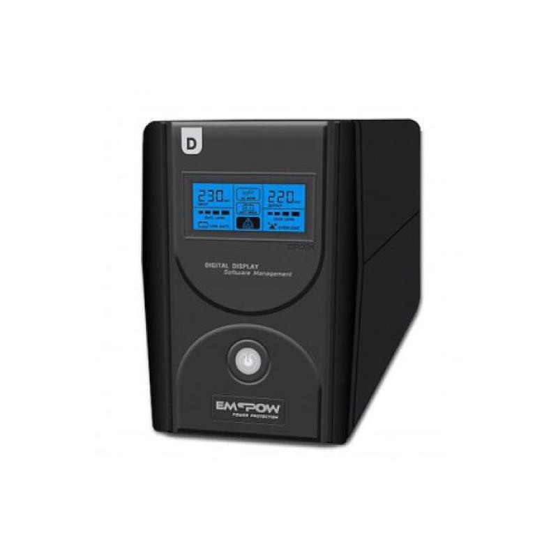 เครื่องสำรองไฟ Zircon D-Series 800VA/480W UPS