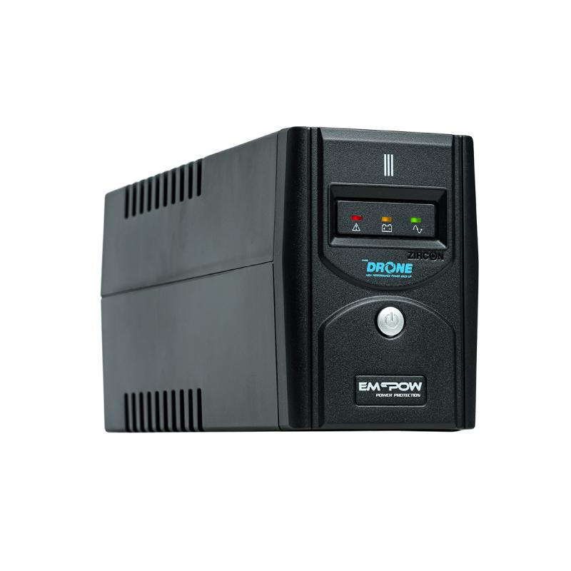 เครื่องสำรองไฟ Zircon DRONE 1000VA/500W UPS