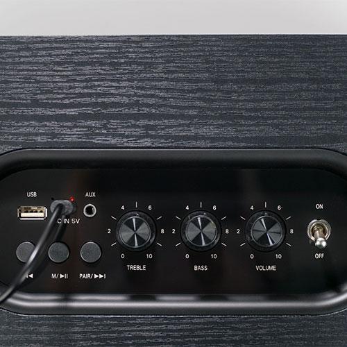 ลำโพงไร้สาย AIWA MI-X150 Retro Plus Bluetooth Speaker เสียงดี