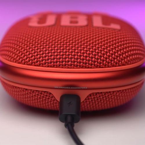 ลำโพงไร้สาย JBL Clip 4 Bluetooth Speaker เสียงดี
