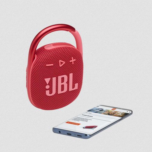 ลำโพงไร้สาย JBL Clip 4 Bluetooth Speaker เสียงกระหึ่ม
