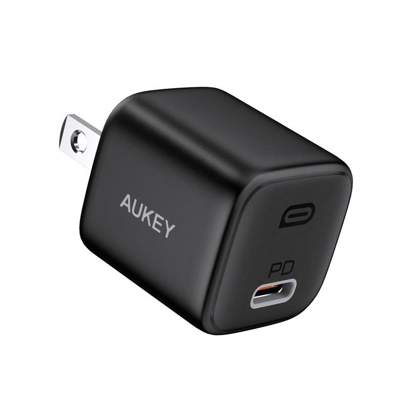 หัวชาร์จ Aukey PA-B1 Wall Charger USB-C 20W