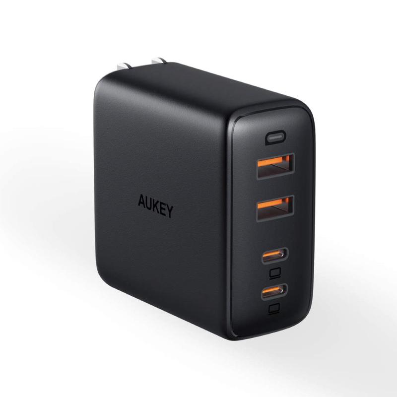 หัวชาร์จ Aukey PA-B7 Omnia 100W 4-Port USB C Charger