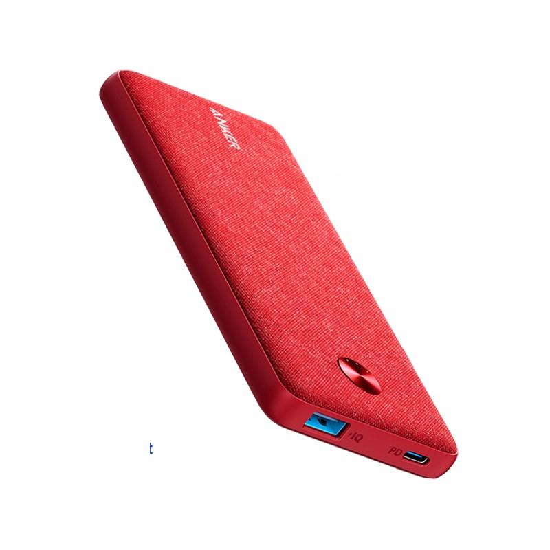 แบตสำรอง Anker PowerCore III Sense 10000mAh PD Red Fabric Version