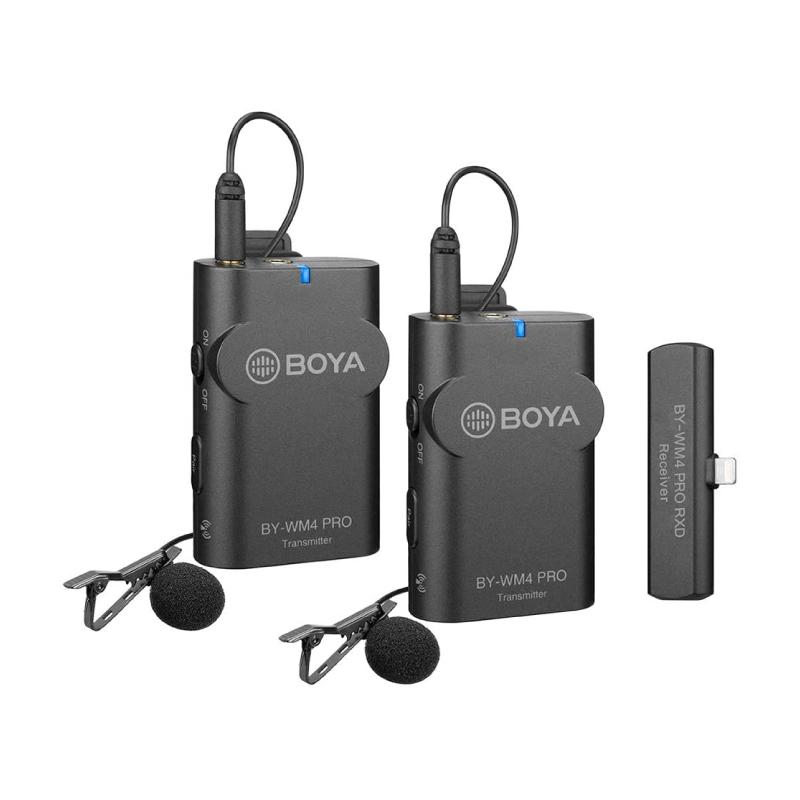 ไมโครโฟน Boya BY-WM4 Pro-K4 Wireless Microphone