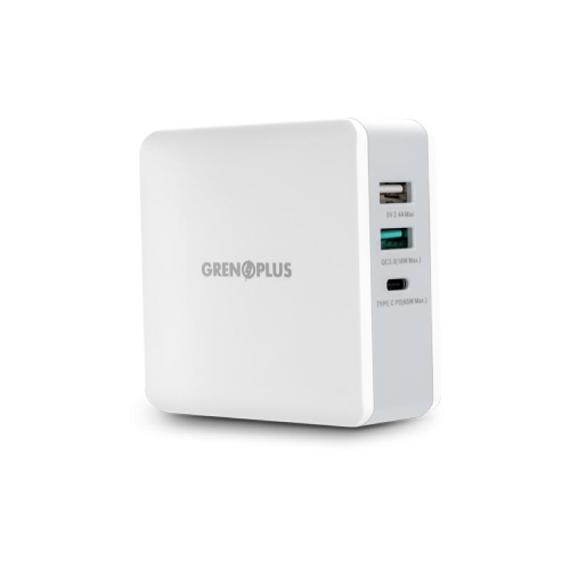 หัวชาร์จ Grenoplus 65w PD USB C Wall Charger
