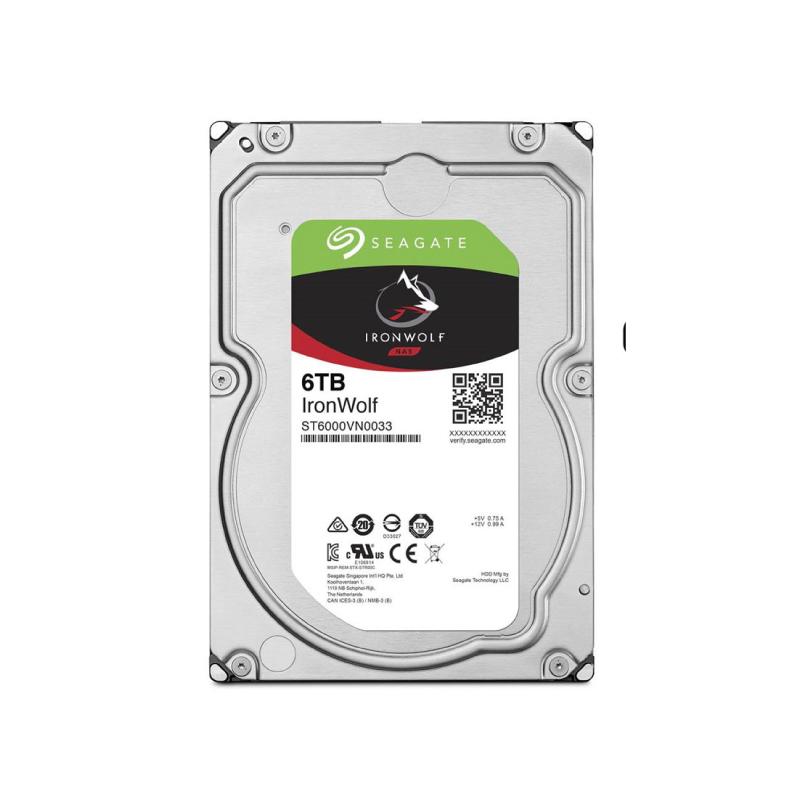 Seagate IRONWOLF NAS 6TB 7200 RPM Harddisk