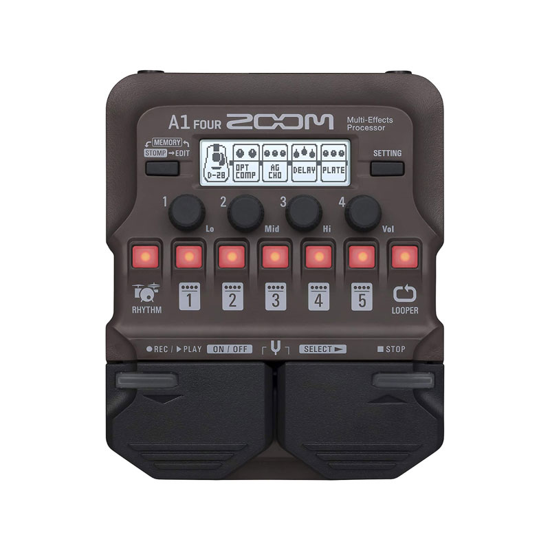 Zoom A1 FOUR Multi-Effects Processor