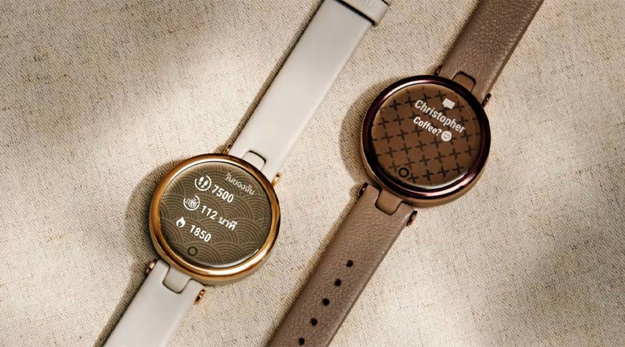 Garmin Lily Sport Watch เซนเซอร์ตรวจจับสุขภาพ