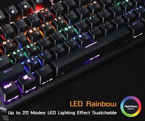 คีย์บอร์ด Nubwo X21 X-Lusion M+ Mechanical Keyboard ไฟ RGB