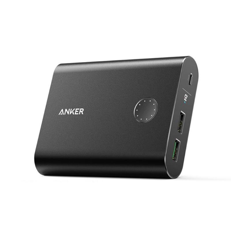 แบตสำรอง Anker PowerCore+ 13400 with Quick Charge 3.0 Power Bank