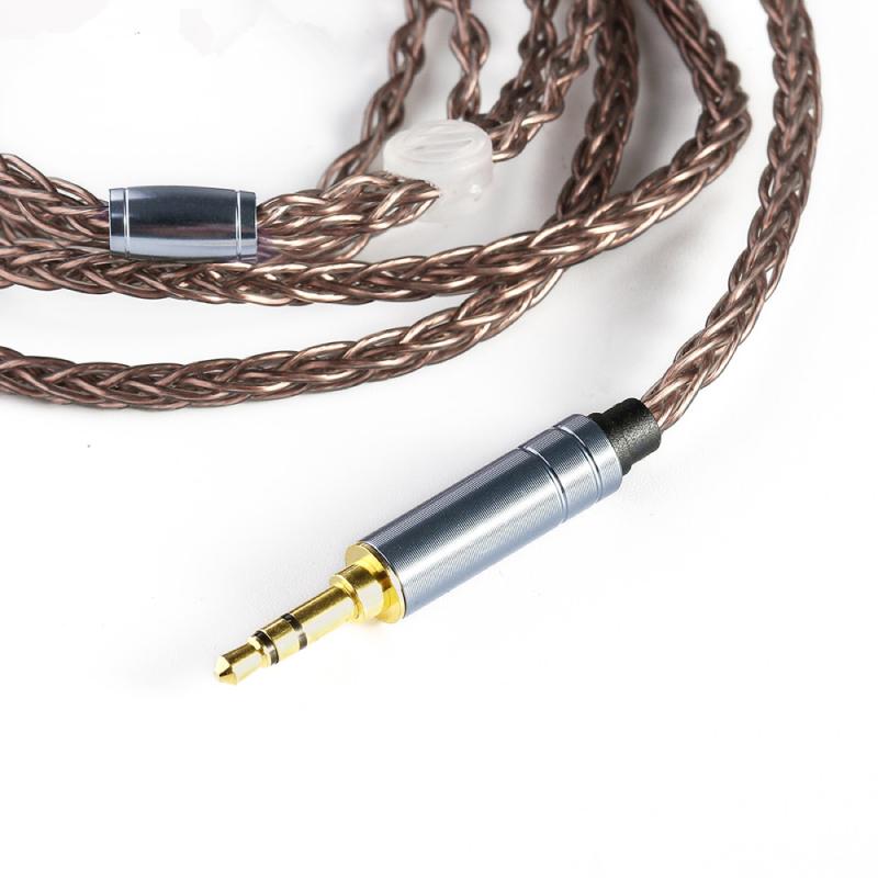 สายอัพเกรดหูฟัง BGVP OC1 single crystal copper
