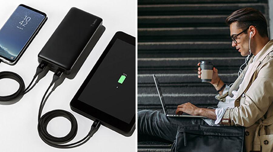 แบตสำรอง Belkin Pocket Power 15000mAh Powerbank ซื้อ-ขาย