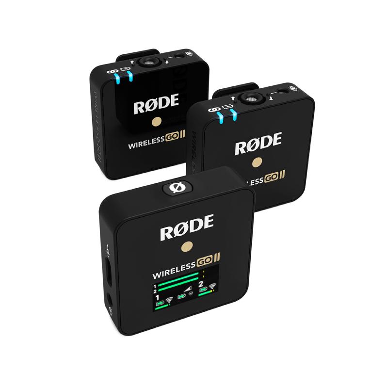 ไมโครโฟน Rode Wireless GO II Wireless Microphone