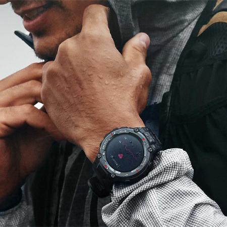 Amazfit T-Rex Pro Smart Watch คุ้มค่า