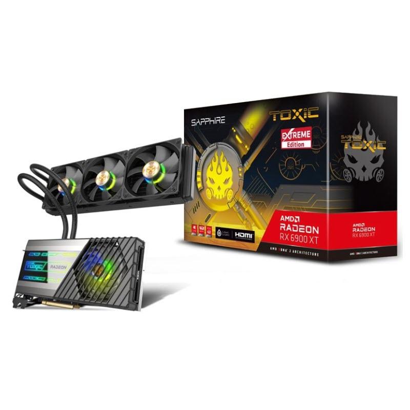 การ์ดจอ Sapphire Toxic Radeon RX 6900 XT Extreme Edition 16GB GDDR6 VGA