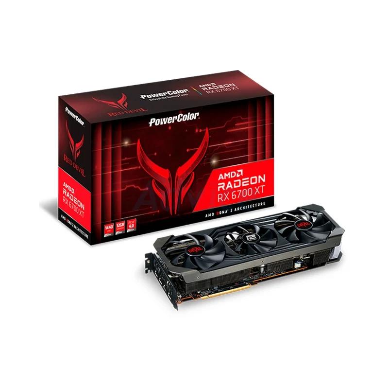 การ์ดจอ Power Color Red Devil Radeon RX 6700 XT 12GB GDDR6 VGA