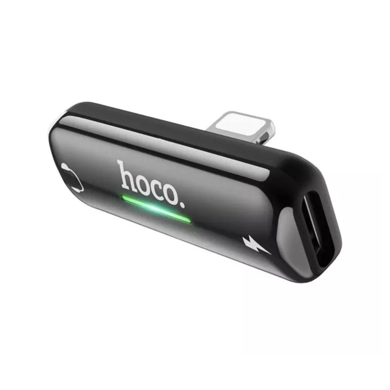 อะแดปเตอร์ Hoco LS27 Lightning Audio Adapter
