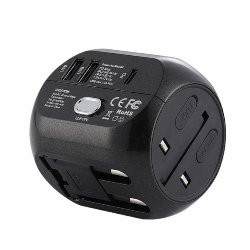 หัวชาร์จ Remax RL-EP08 (QC3.0) Universal Adapter