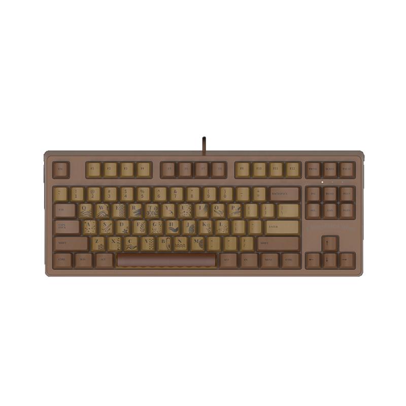 คีย์บอร์ด Ajazz Chocolate 104 Gaming Keyboard