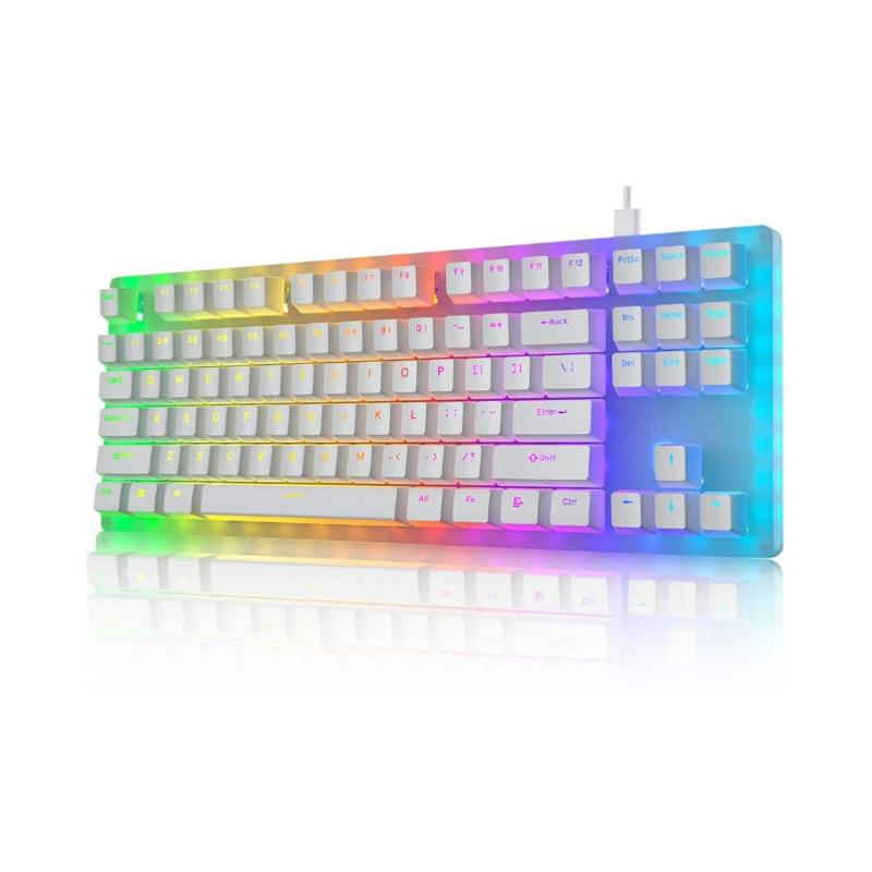 คีย์บอร์ด Womier K87 TKL RGB Hot Swap Keyboard