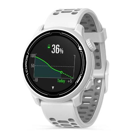 นาฬิกา Coros Pace 2 Premium GPS Sport Watch แบตเตอรี่