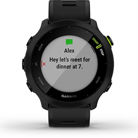 นาฬิกา Garmin Forerunner 55 Sport Watch Garmin Connect