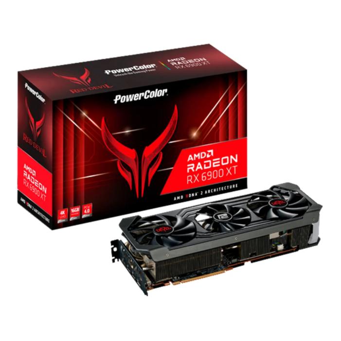 การ์ดจอ Power Color Red Devil Radeon RX 6900 XT Ultimate 16GB GDDR6 VGA
