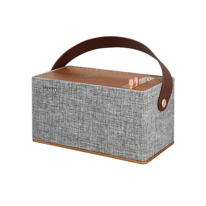 ลำโพงไร้สาย Aiwa MI-X130 Wellington Portable Bluetooth Speaker