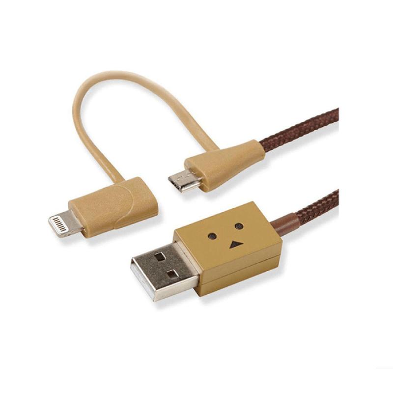สายชาร์จ Cheero Danboard 2in1 Lighnting & Micro USB Cable