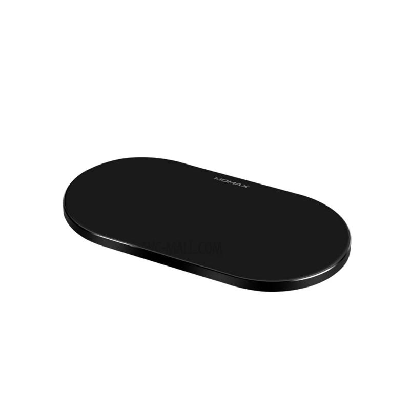 แท่นชาร์จไร้สาย Momax Q.Pad Dual Pro Quad-Coil Fast Wireless Charger