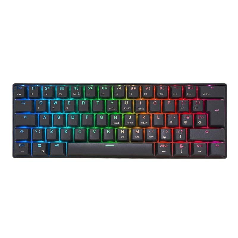 คีย์บอร์ด Royal Kludge RK61 Black Wireless Gaming Keyboard