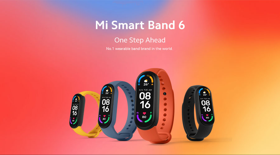 นาฬิกา Xiaomi Mi Band 6 Smart Watch (Global Version) ราคา