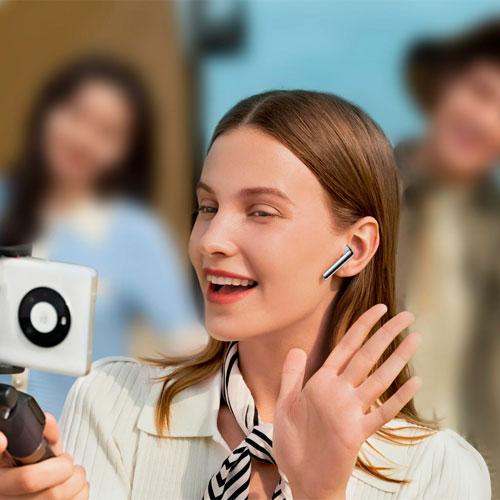 หูฟังไร้สาย Huawei FreeBuds 4 True Wireless ใช้แยกข้างได้