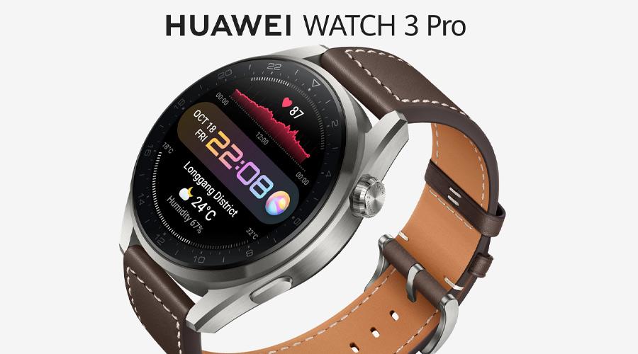 Huawei Watch 3 Pro Classic Smart Watch รีวิว