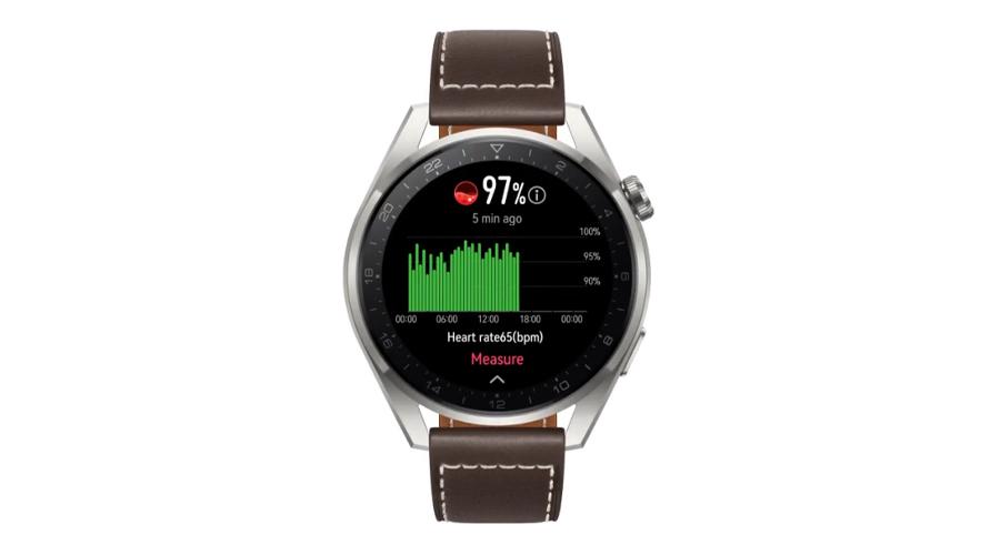 Huawei Watch 3 Pro Classic Smart Watch ออกซิเจนในเลือด